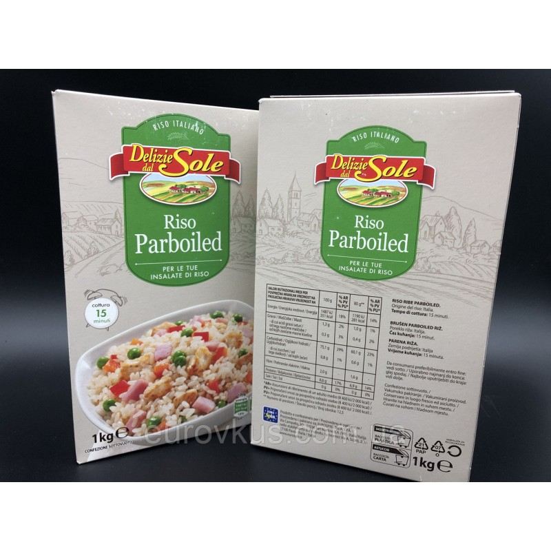 РИС DELIZIE DAL SOLE PARBOILED 1КГ