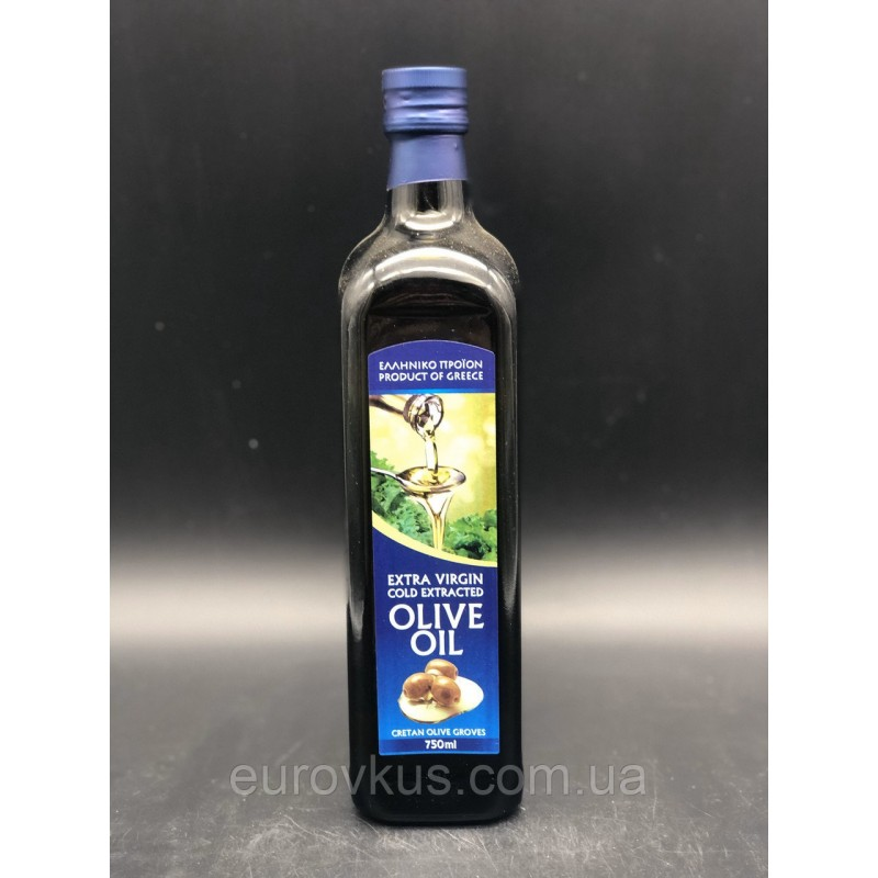 Оливковое масло Extra Virgin Gold extracted olive oil 750мл