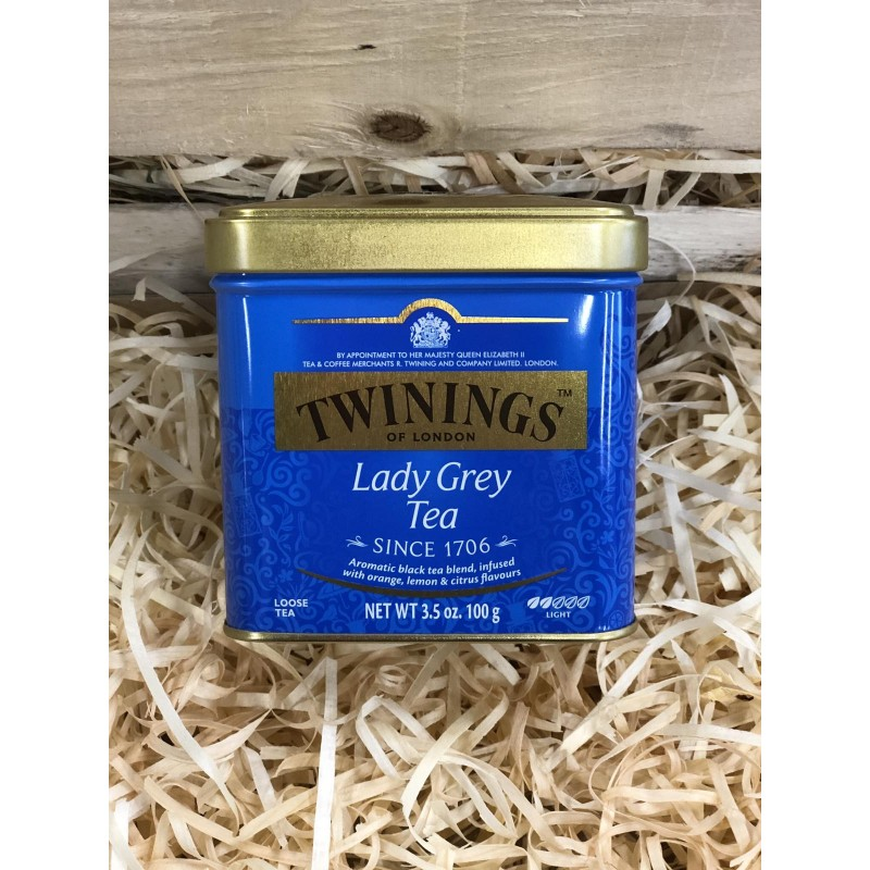 Чай черный TWININGS Lady Grey 100г