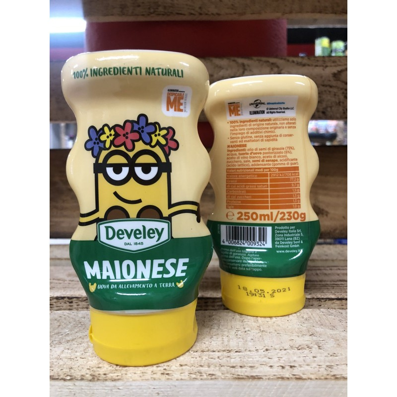Майонез Delevey Maionese Minions Squeeze 250мл